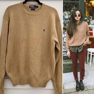 Mens Polo Ralph Lauren cotton crewneck sweater